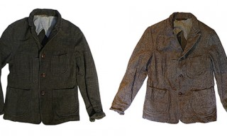 R by 45rpm Cotton Tweed Jackets