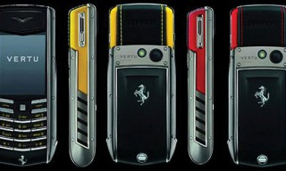 Vertu Ascent Ti Ferrari Mobile Phone Collection