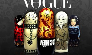 Matrioshka Dolls for Vogue Russia 10th Anniversary
