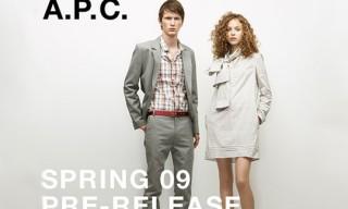 A.P.C. Pre-Spring 2009 Release