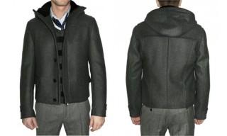 Costume National hooded jacket