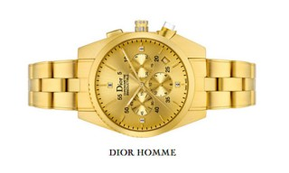 Dior Homme Chiffre Rouge 103 Gold Automatic