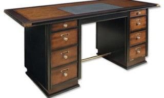 Campaign Style Captains Desk