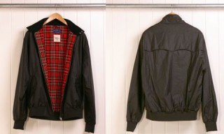 Fred Perry Fly Weight Wax Harrington Jacket