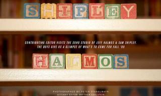 """Contributing Editor"" Visits Shipley & Halmos"