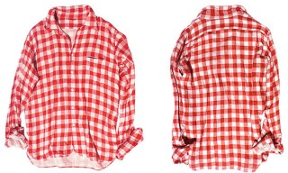45rpm Gauze Check Shirt
