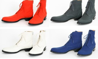 Lad Musician Canvas Boots