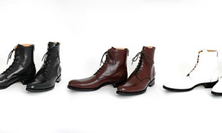 Lad Musician Leather Boots