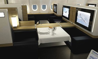 Swiss Air's New First Class Suite