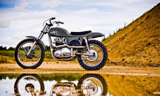 Steve McQueen Metisse Desert Racer Replica Motorcycle