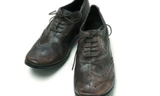 Mihara Yasuhiro Half-Brogue Shoes