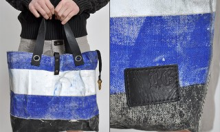 Rogues Gallery Canvas Boat Bag