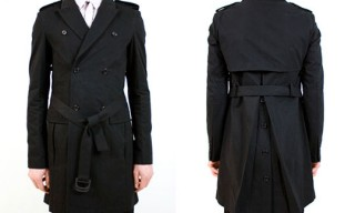 Shipley & Halmos Belted Trench Coat