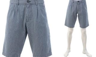 B Store Seersucker Shorts