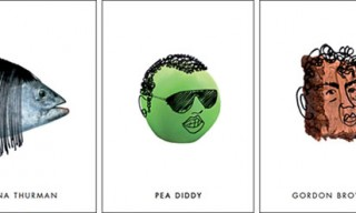 "Harvey Nichols' ""Pun-tastic"" Postcards"
