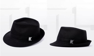 K By Karl Lagerfeld Trilby Hat