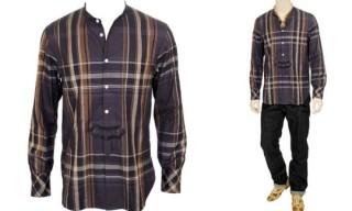 Number (N)ine Collarless Shirt