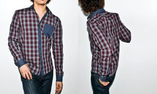 Surface to Air Combo Plaid Shirt