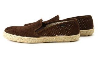 Alberola Suede Slip-on Loafers