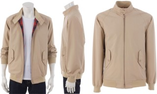 Baracuta Beige Harrington Jacket