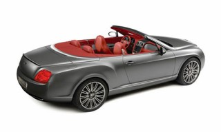 Bentley GTC Speed Automobile