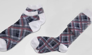 Brooks Brothers Black Fleece Madras Socks