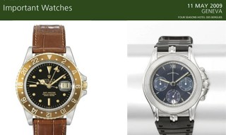 "Christie's ""Important Watches"""