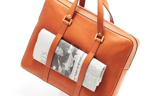 Delvaux Newspaper Briefcase