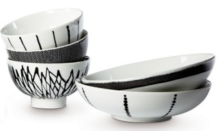 Filippa K Porcelain Bowls by Rörstrand