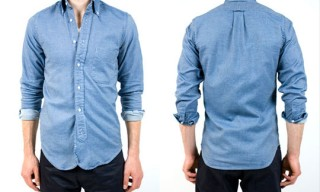 Gitman Chambray Oxford Twill Shirt