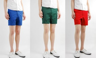 Lad Musician Short Pants in Color