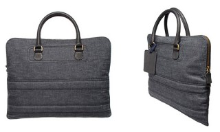 Lanvin Denim Briefcase