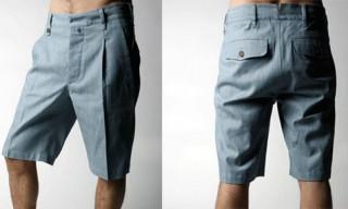 Loden Dager Chambray Shorts