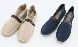 Pare Gabia Suede Leather Slip-Ons