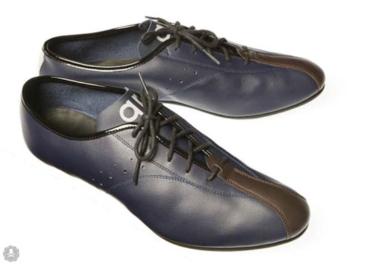 Old Style Leather Cycling Shoes