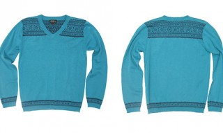Arne & Carlos V-Neck Pullover Sweater