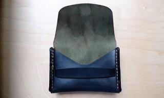 Horween for MAKR Flap Wallet