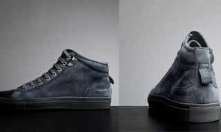 Neil Barrett Baseball High-Top Sneaker