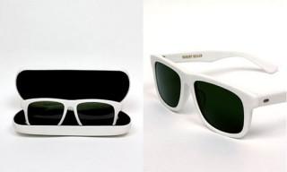 Robert Geller White Joseph Sunglasses