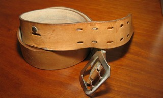 """Re-Worked"" Atelier LaDurance Saddle Belt"