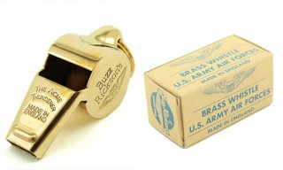Buzz Rickson The Acme Thunderer Brass Whistle