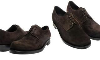 Jil Sander Suede Derby Shoe
