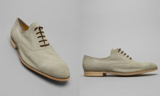 Mjolk 'Hackney Road' Suede Shoe