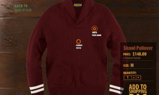 Rugby 'Make Your Own' Cardigan