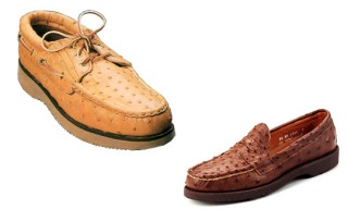 "Russell Moccasin Co. ""Exotic Shoes"""