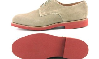 Sanders Suede Plain Toe Bucks for SHIPS