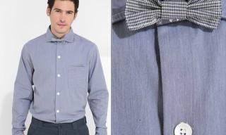 YMC Bow Tie Chambray Shirt