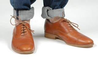 Shofolk Tan 'Bobby' Oxford Shoe