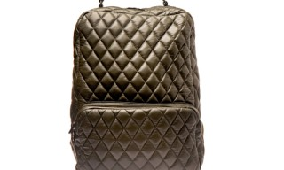 H By Harris Quilted Leather Backpack