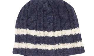 Hackett Cable Knit Hat